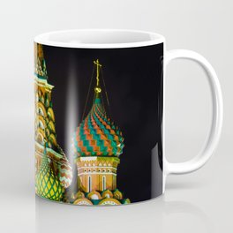 St. Basil's Cathedral on red square in Moscow Coffee Mug