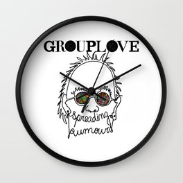 Spreading Rumours Grouplove Wall Clock