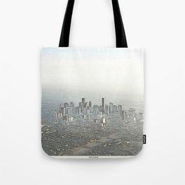 Houston Skyline Tote Bag
