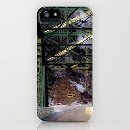 Wrong Turn iPhone Case