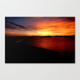 Yarmouth Sunset 2 Canvas Print