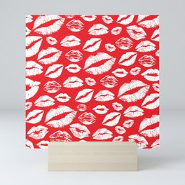 Lips 14 Mini Art Print