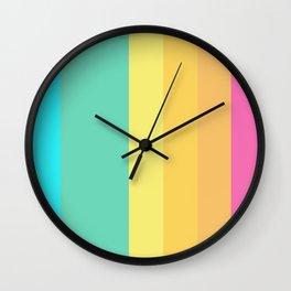 life is a beach - summer vibes Wall Clock