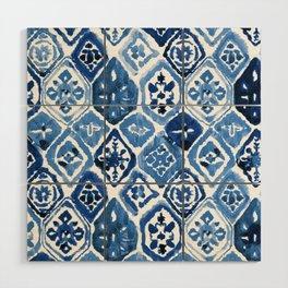 Arabesque tile art Wood Wall Art