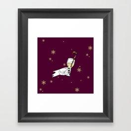 Winter celebration Framed Art Print