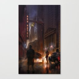 A last look before leaving Canvas Print