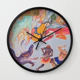 Heaven & Hell Wall Clock