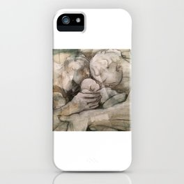 shared fatherhood II: close. iPhone Case