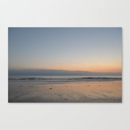 The Waves Silence Canvas Print