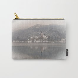 Wintry Bled Island Carry-All Pouch