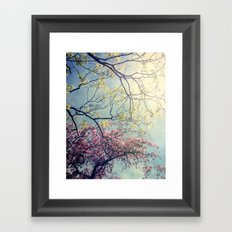 The Song of a Spring Sky Framed Art Print