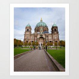 Berliner Dom Art Print