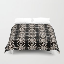 French-American pattern Duvet Cover