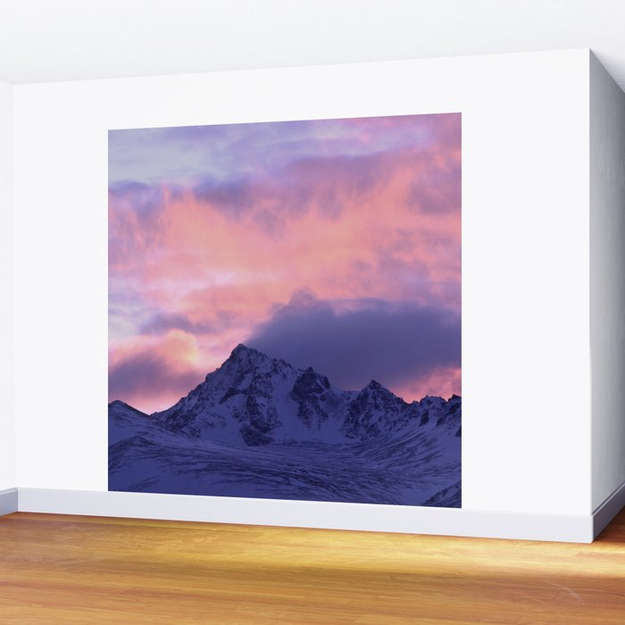 Rose Serenity Sunrise III Wall Mural