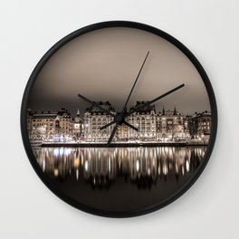 Stockholm Reflection Wall Clock