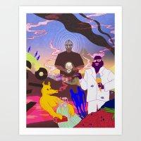 doom Art Prints featuring DOOM by Kim Nguyen