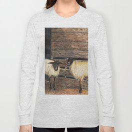 Curly and Moe Long Sleeve T-shirt