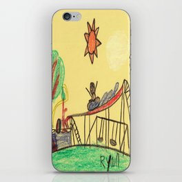 Water Play Park iPhone Skin