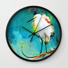 Evening Sun Wall Clock