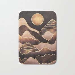 Sunkissed Mountains Bath Mat