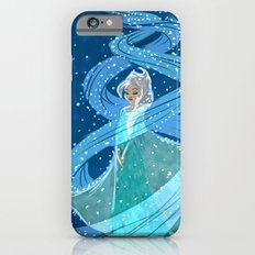 Swirling snow Slim Case iPhone 6s