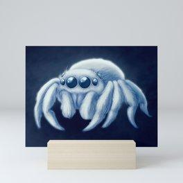 Snowball Jumping Spider Mini Art Print