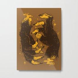 Monster Hands Metal Print