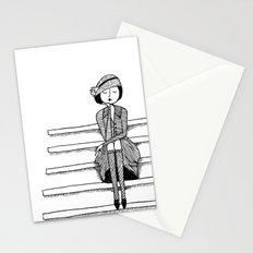 vintage vixen Stationery Cards