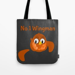 No.1 Wingman | Broken Wing Tote Bag