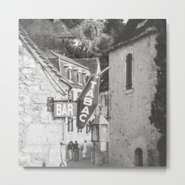 Bar Tabac - Travel Photography Metal Print