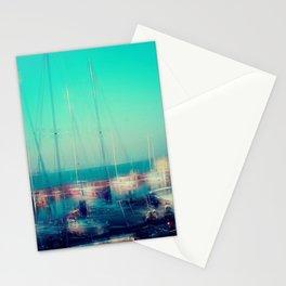 Sailing Harbor at Lake Balaton Stationery Cards