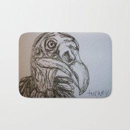 Turkey Vulture Bath Mat
