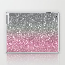 Gray and Light Pink Laptop & iPad Skin
