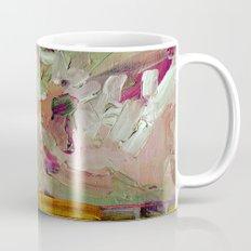 Abstract Purple Green Sky Mug