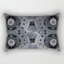 Fractal Art - spaceship drive Rectangular Pillow
