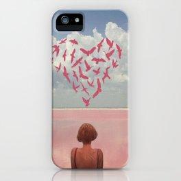 Au loin, far away iPhone Case