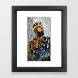 Naturally King III Framed Art Print