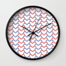 heartbeat pattern Wall Clock