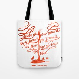 Your hear (monochrome version) Tote Bag