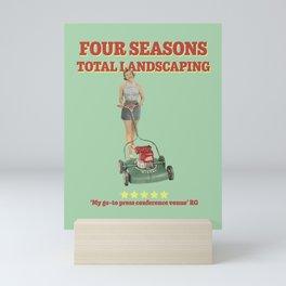 Four Seasons Total Landscaping Mini Art Print