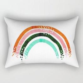 Parque del Oeste rainbow Rectangular Pillow