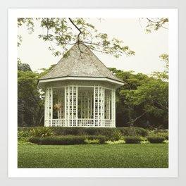 Singapore Botanical Gardens Art Print