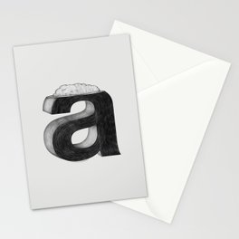 Dissecting Typefaces - a  Stationery Cards