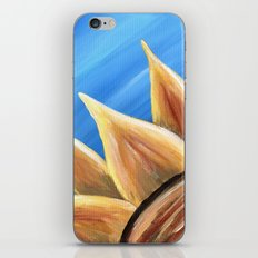 Fall Sunflower iPhone Skin