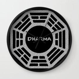DHARMA INITIATIVE  Wall Clock