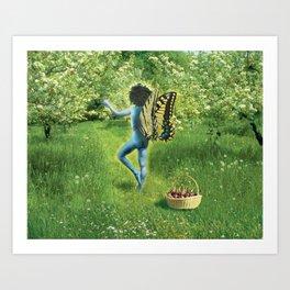 Apple Tree Nymph Art Print