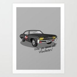 Ghosthunters Art Print