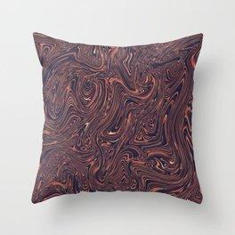 Liquid 2 Throw Pillow