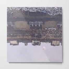 Poetic City Metal Print