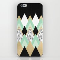 queen iPhone & iPod Skins featuring Queen by Elisabeth Fredriksson